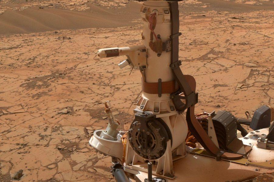 Curiosity fait un relevé de températures