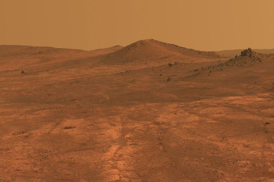 Mars et ses plaines