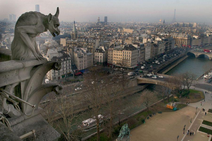 Paris aujourd'hui, vu de Notre-Dame de Paris