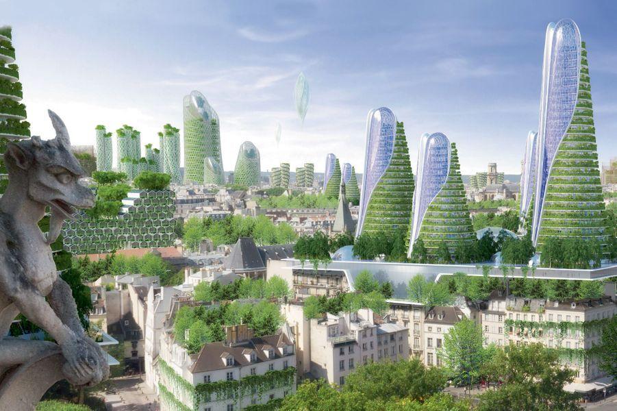 Paris en 2050.