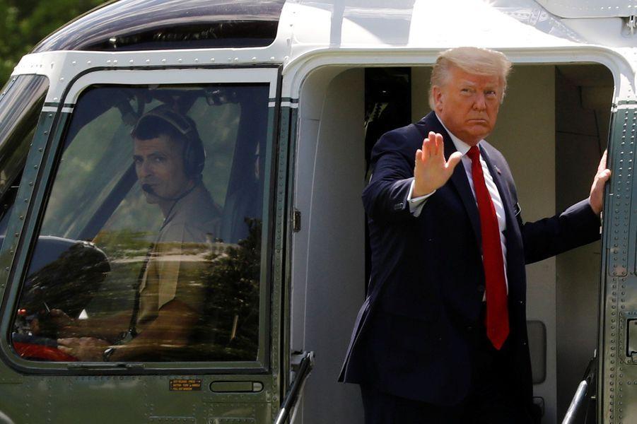 Donald Trump avait fait le déplacement en Floride
