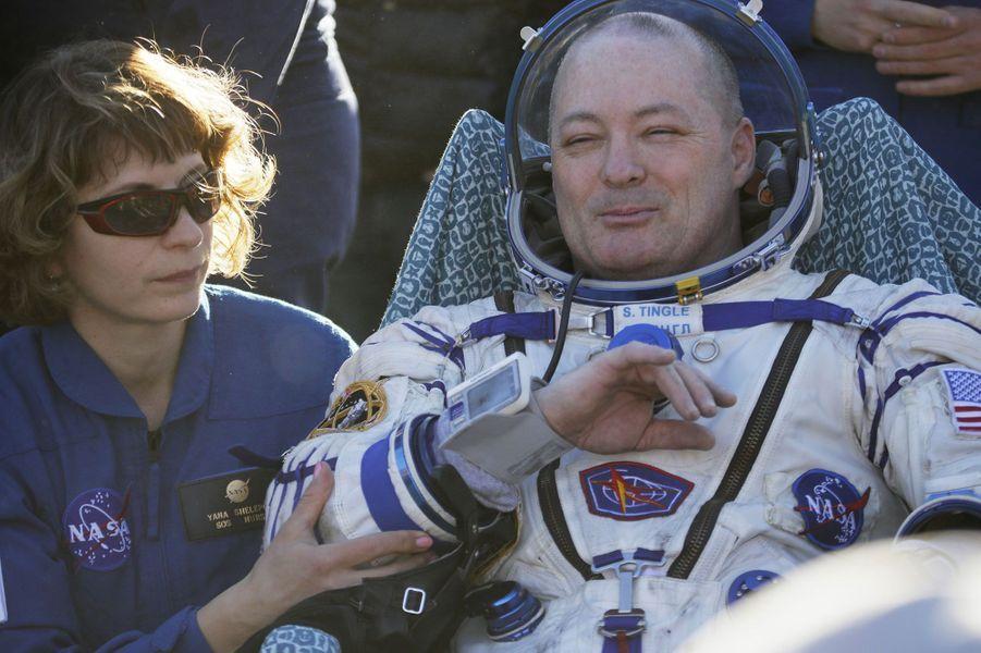 L'astronaute américainScott Tingle