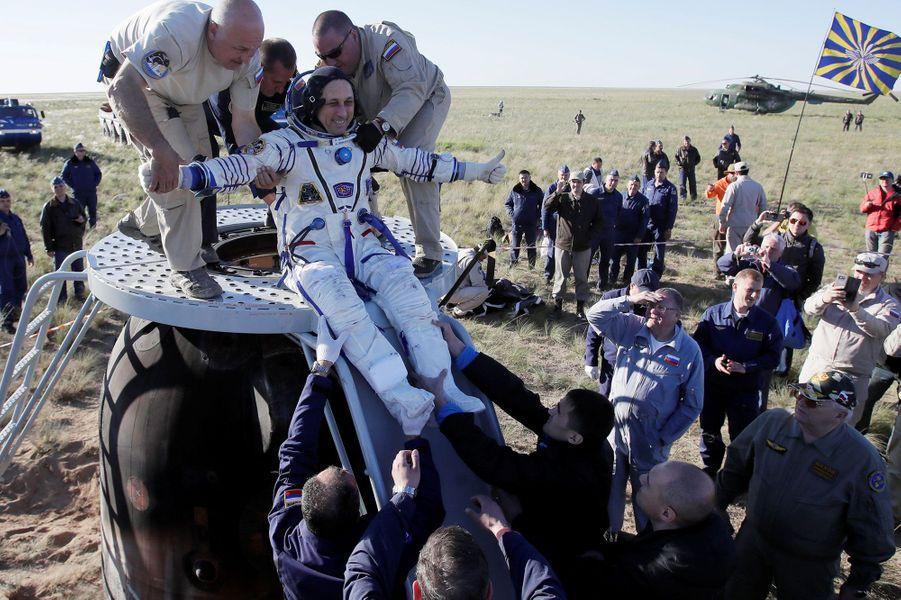 L'astronaute russeAnton Chkaplerov