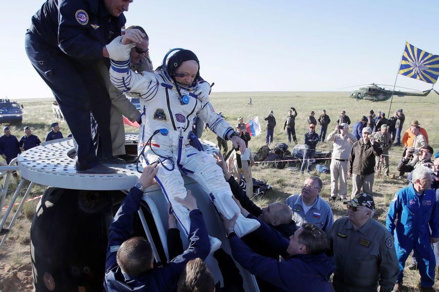 L'astronaute américain ScottTingle