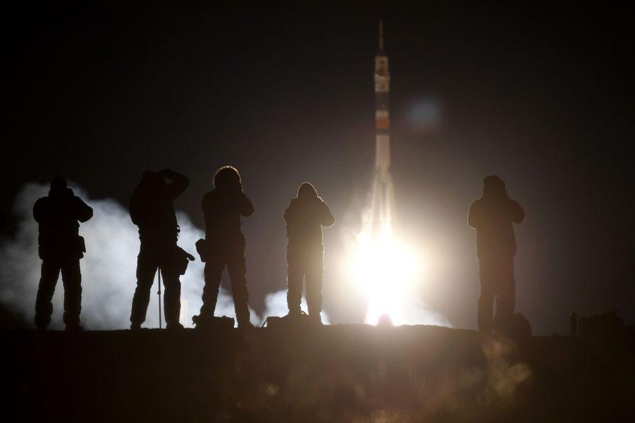 Mise à feu de la fusée