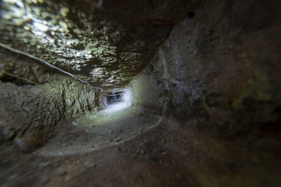 Au bout de cet étroit passage, le trésor était dissimulé depuis cinq siècles.