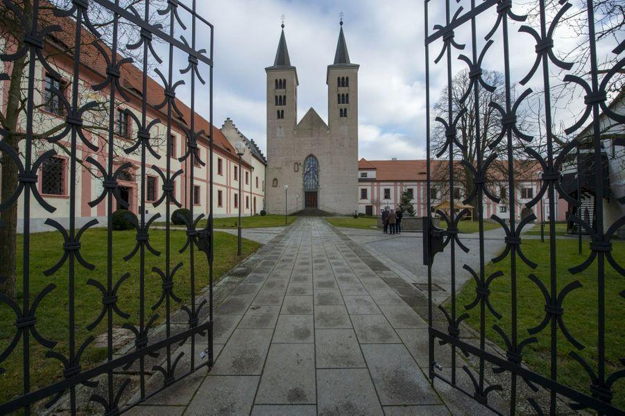 Le monastère de Milevsko, jadis immensément riche.