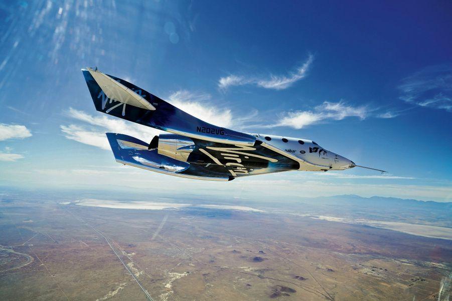 La descente, quand la navette prend la position d'un planeur, entre 10 et 15 kilomètres d'altitude.