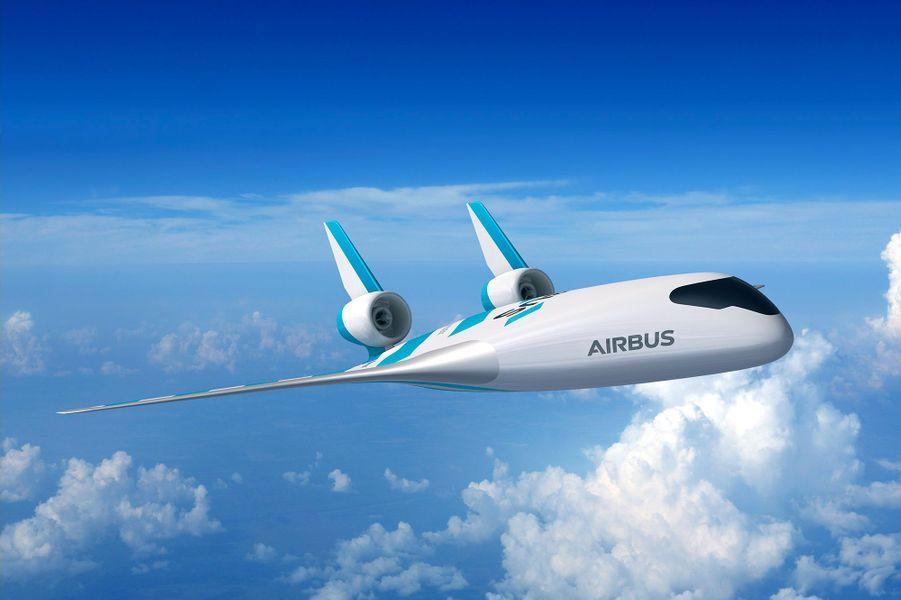 Vue d'artiste du Maveric d'Airbus.