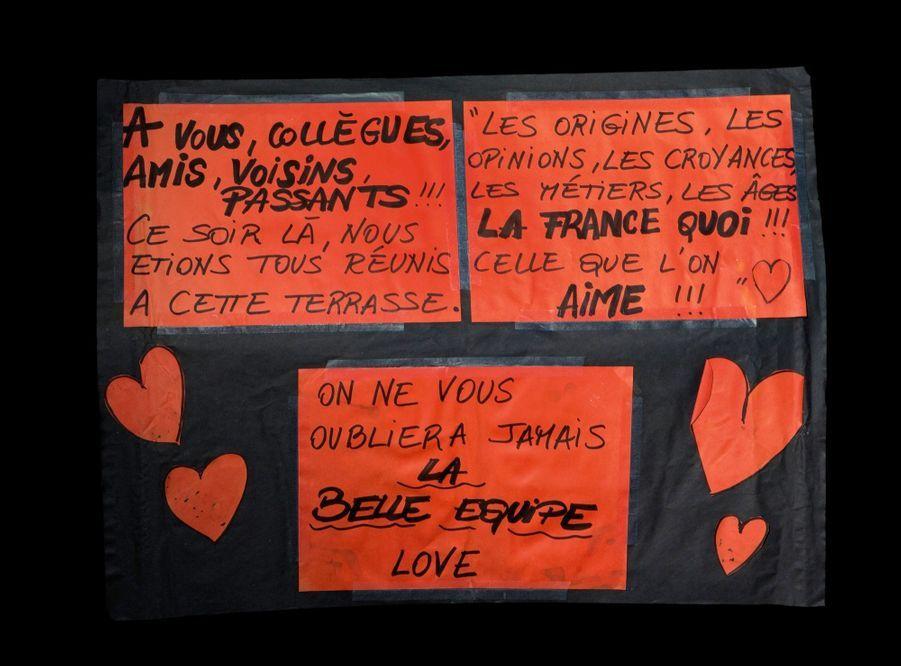 Message de soutien, La Belle Equipe (3907W).