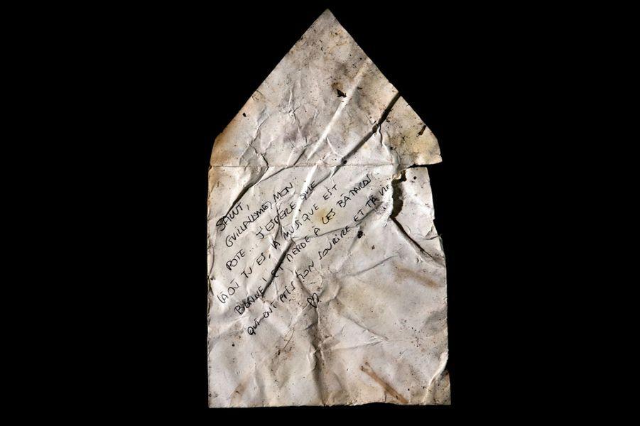 L'enveloppe pour Guillaume, Bataclan (3904W)