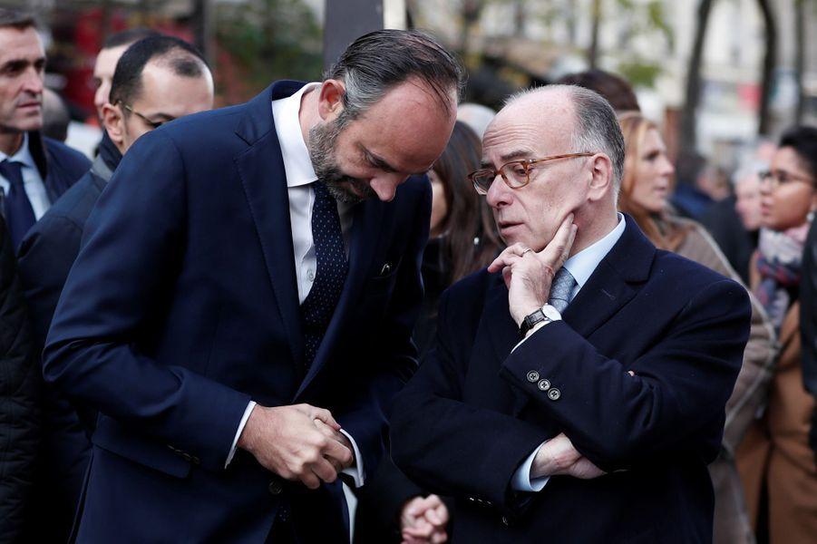 Edouard Philippe et Bernard Cazeneuve.