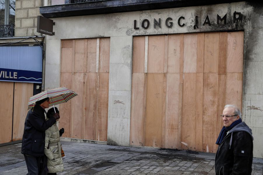 La boutique Longchamp.