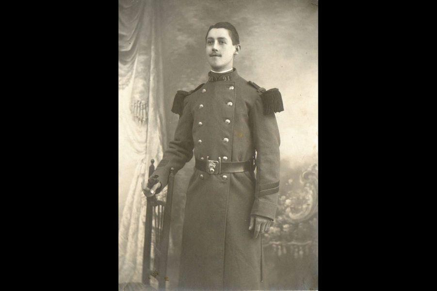 Georges Guillet, 91e RI. Arrière-grand-père de Laurence Cabaut.