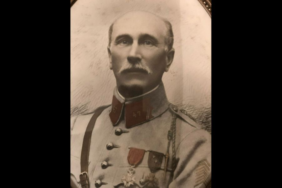 Augustin Boisselet, capitaine. Arrière-grand-père de Caroline Huertas.