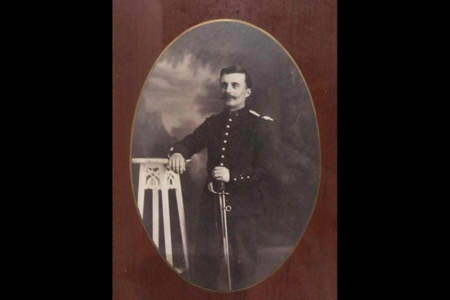 Camille Gautier, 19e chasseurs à cheval. Arrière-grand-père de Valérie Trierweiler.