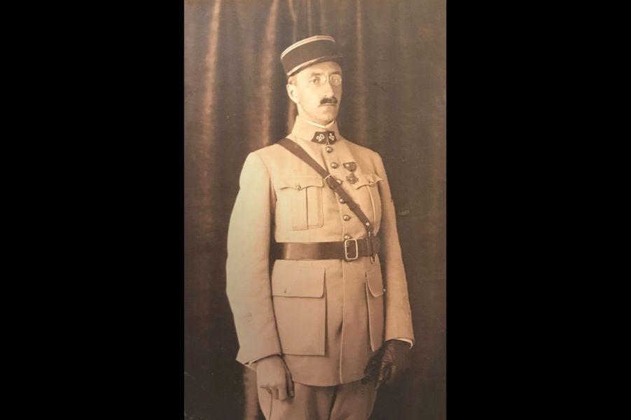 Raymond Bollaert, lieutenant au 20e RI. Arrière-grand-père de Marion Mertens