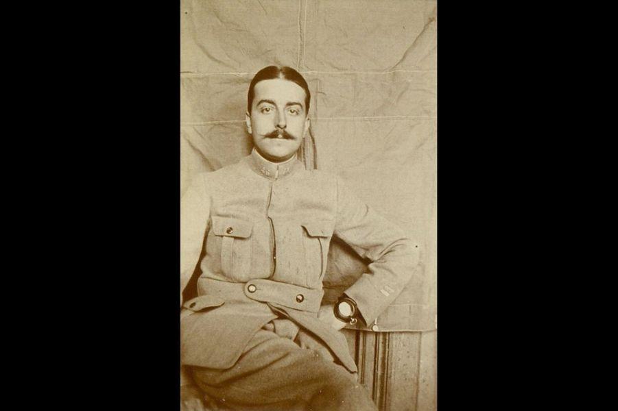 Georges Fontaine, sergent au 46e RI. Arrière-arrière grand-père de Caroline Fontaine