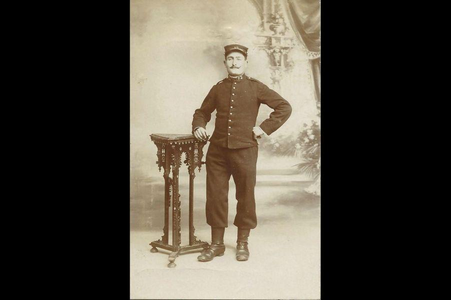 Jean-Pierre Sestéré, 12e RI. Arrière-arrière grand-père d'Adrien Gaboulaud.