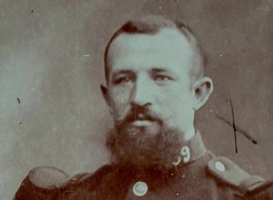 Jean-Noël Chassagnard, 294e RI. Grand-oncle de Ghislain Loustalot.