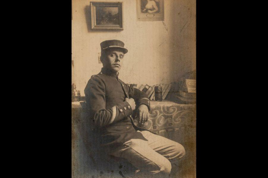 Alfred Delassus, 72e RI. Arrière-grand-père de Pauline Delassus