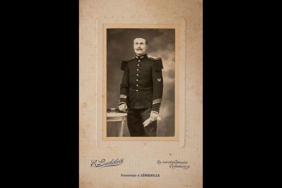 Louis Noulet, 155e RI. Grand-père d'Elisabeth Lazaroo.