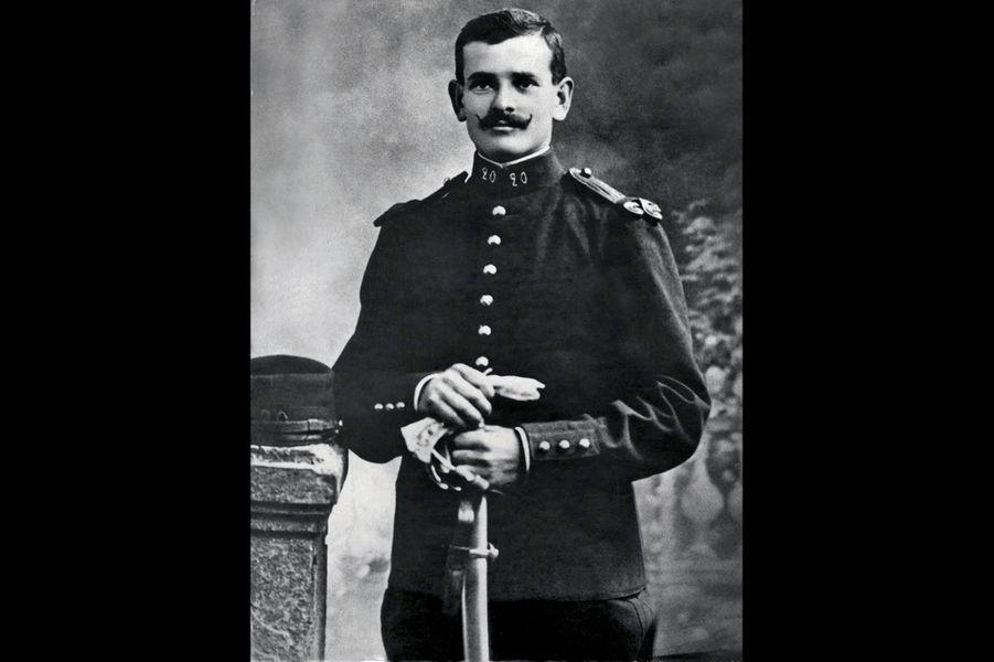 Emile Giraud, 20e d'artillerie. Arrière-grand père de Michel Maïquez.