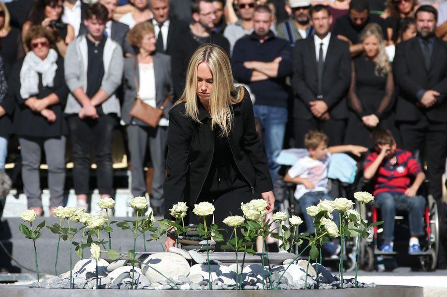 Hommage aux 86 victimes de l'attentat de Nice, le 15 octobre 2016.
