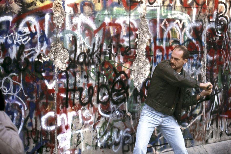Berlin, novembre 1989 : l'Histoire se fait en direct.