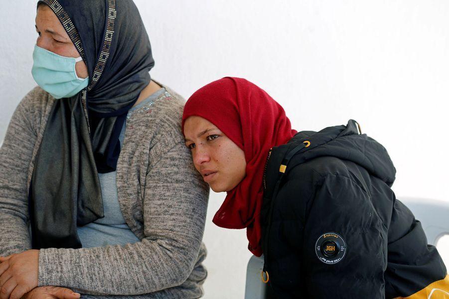 La famille enTunisie deBrahimAouissaoui, principal suspect de l'attaque perpétrée à Nice le 29 octobre 2020