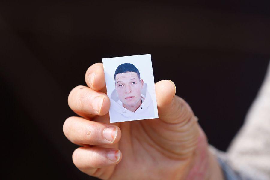 PortraitdeBrahimAouissaoui, principal suspect de l'attaque perpétrée à Nice le 29 octobre 2020