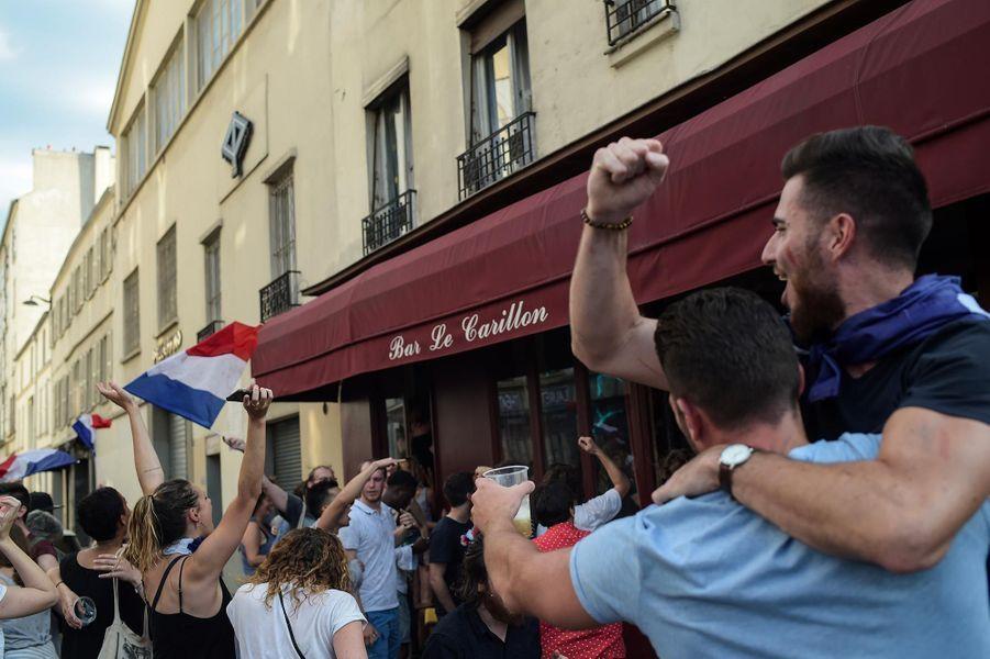 Au Carillon, à Paris, le 15 juillet 2018.