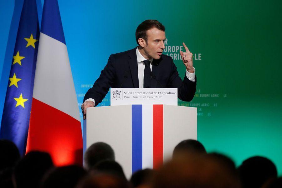 Emmanuel Macron Au Salon De L'Agriculture ( 1