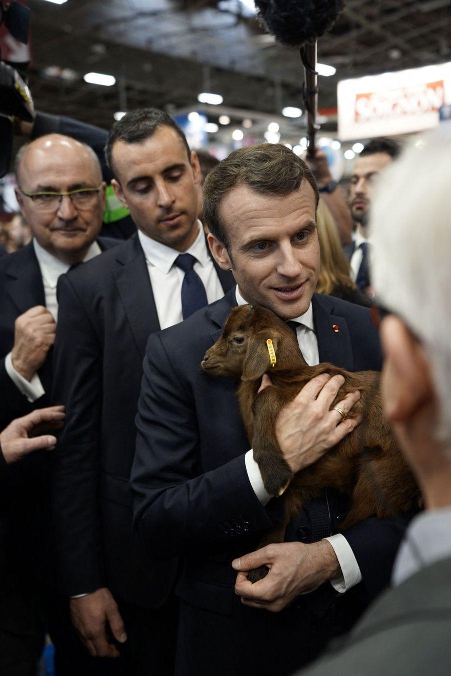 Emmanuel Macron Au Salon De L'Agriculture ( 10