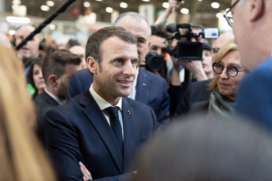 Emmanuel Macron Au Salon De L'Agriculture ( 11
