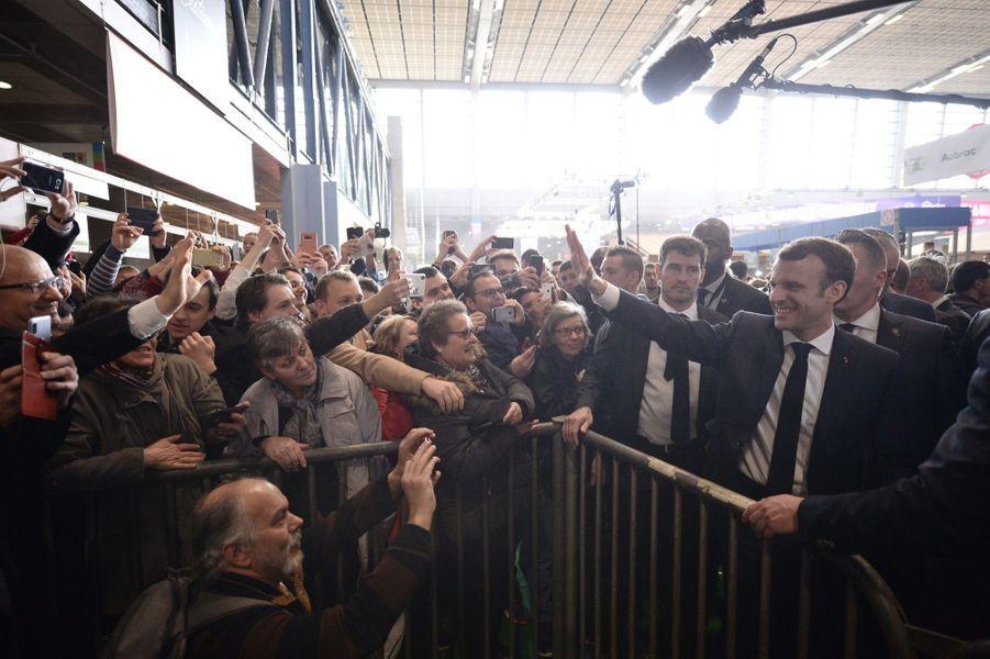 Emmanuel Macron Au Salon De L'Agriculture ( 12