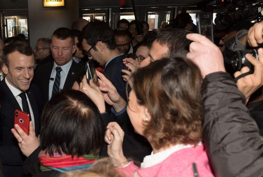 Emmanuel Macron Au Salon De L'Agriculture ( 13
