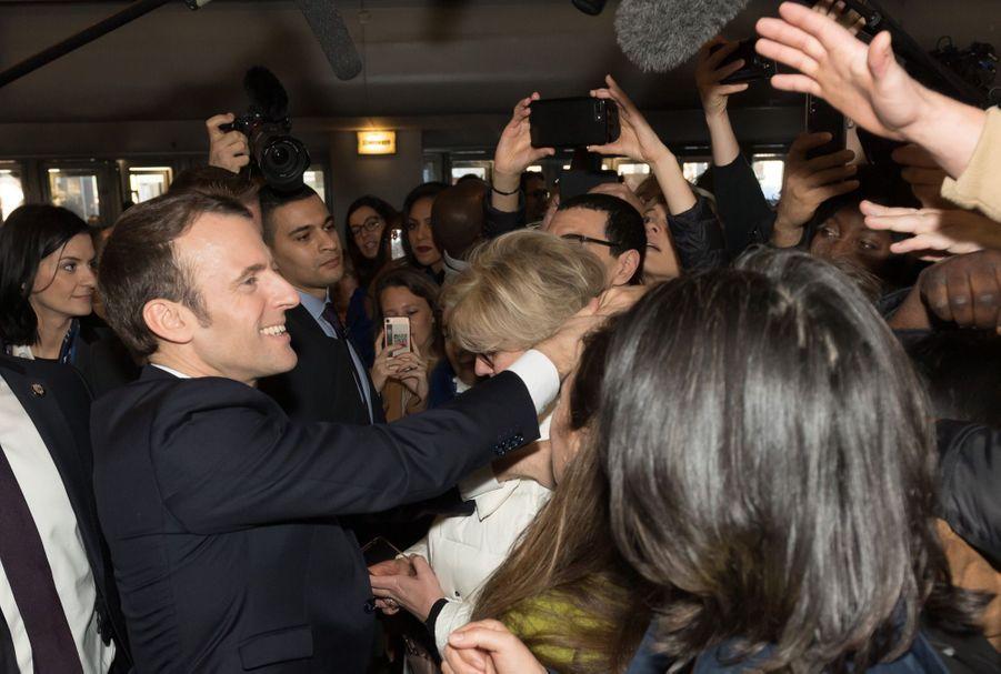 Emmanuel Macron Au Salon De L'Agriculture ( 14