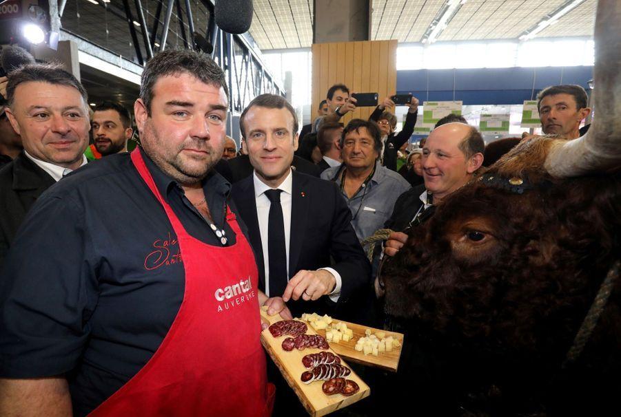 Emmanuel Macron Au Salon De L'Agriculture ( 4