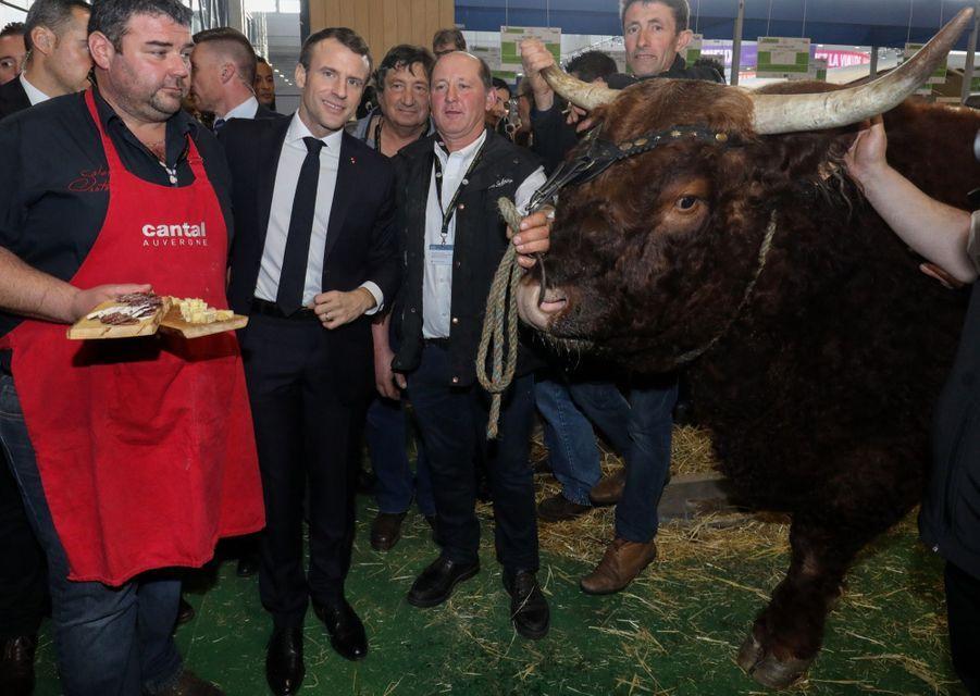 Emmanuel Macron Au Salon De L'Agriculture ( 6