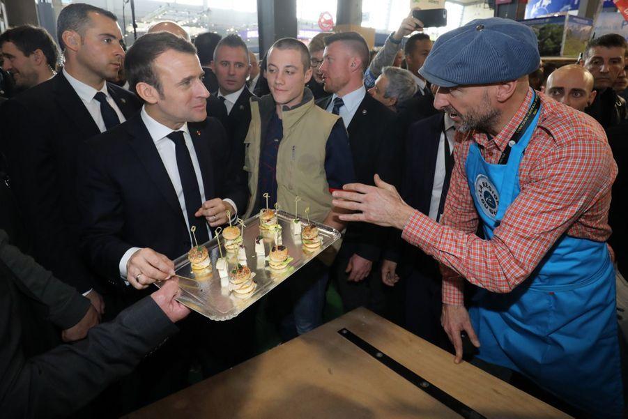 Emmanuel Macron Au Salon De L'Agriculture ( 7