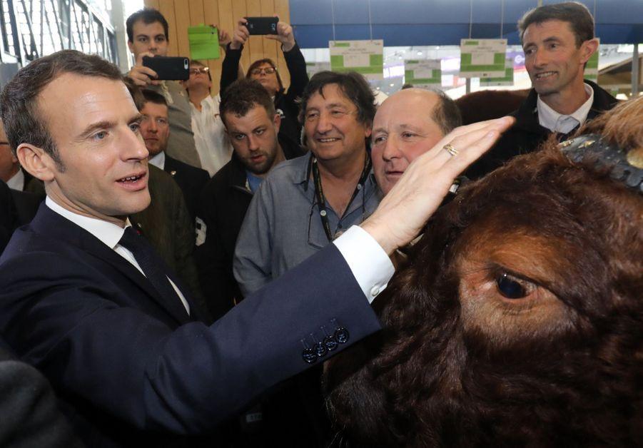 Emmanuel Macron Au Salon De L'Agriculture ( 8