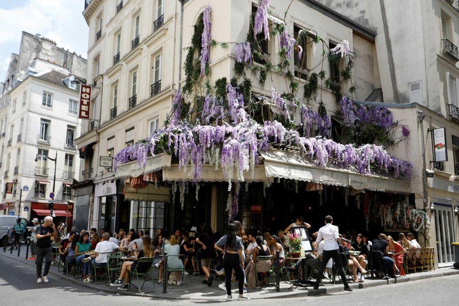 Le restaurant Maison sauvage dans le VIème arrondissement de Paris après le déconfinement