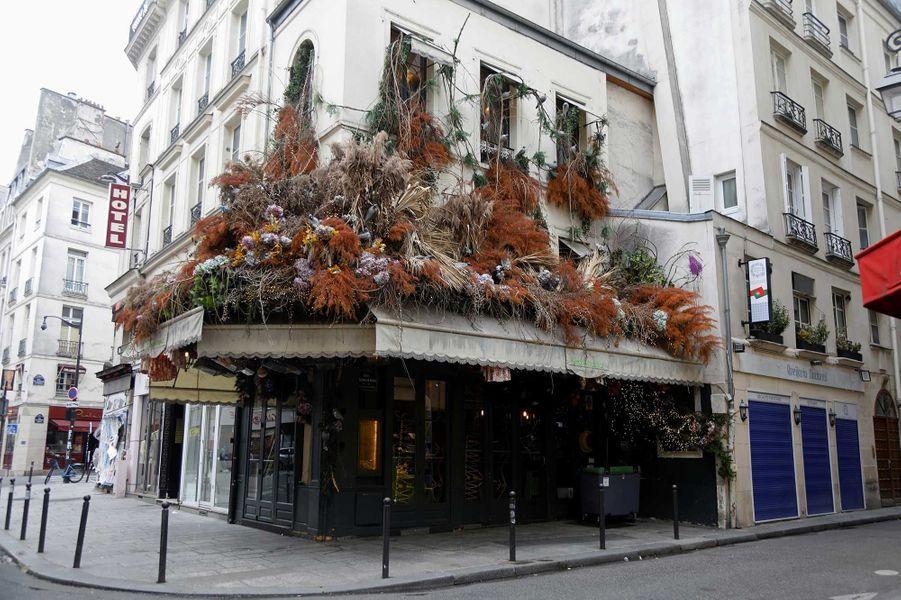 Le restaurant Maison sauvage dans le VIème arrondissement de Paris durant le confinement
