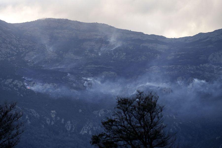 Pietracorbara en Corse, le 10 février 2020.