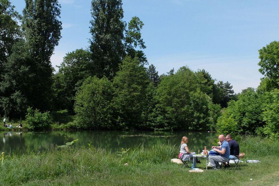 Photo prise au Bois de Boulogne, près de Paris.