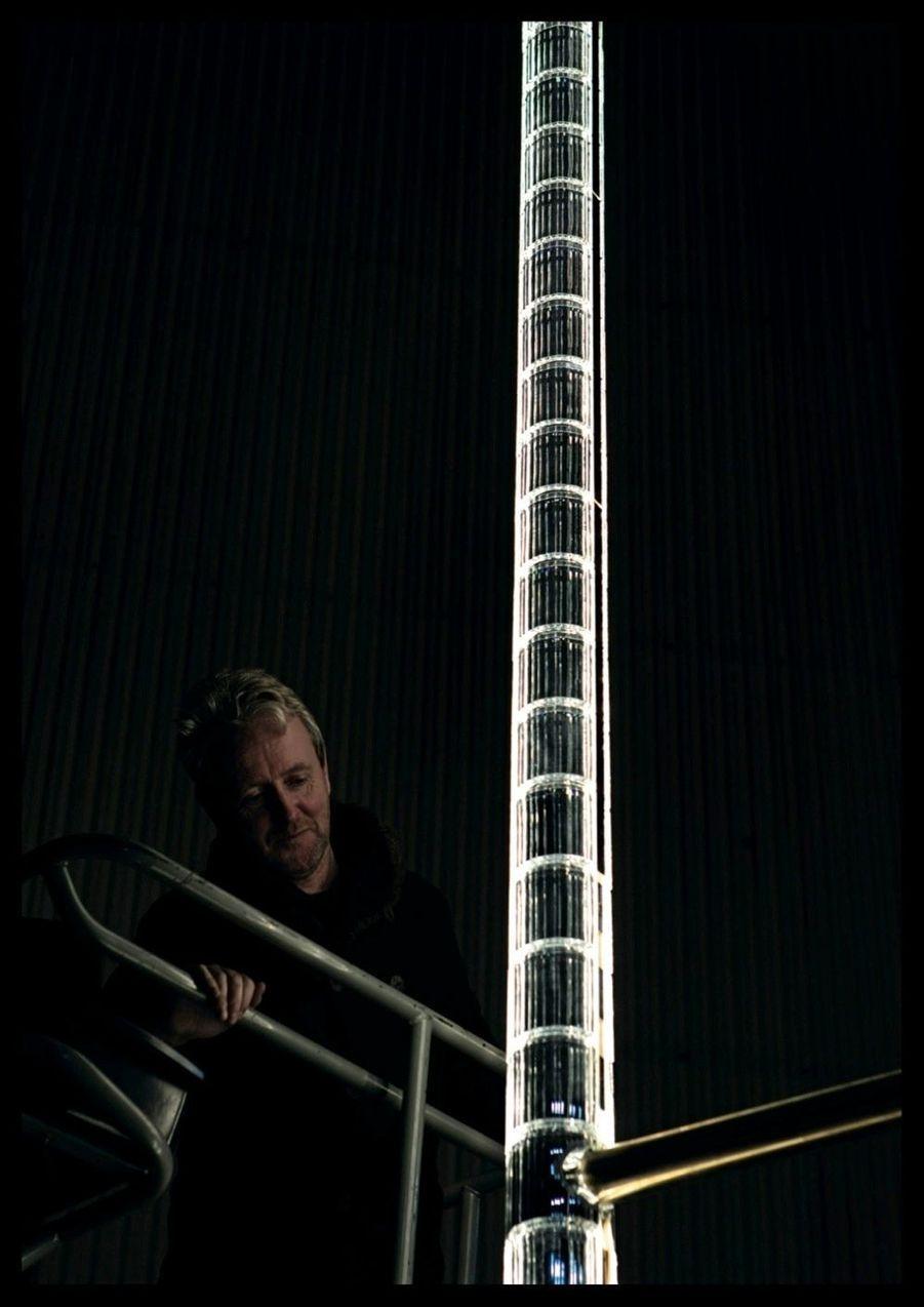 Chaque fourreau de cristal est habillé de lumière : au total, 43 822Led seront installées.
