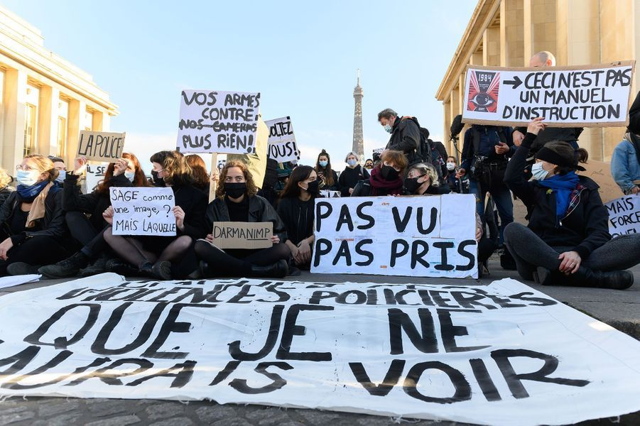 La manifestation à Paris samedi.