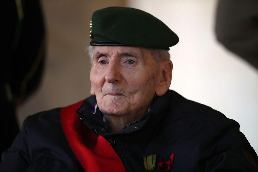 Hubert Germain, le dernier des 1.038 Compagnons de la Libérationencore en vie après le décès de Daniel Cordier.