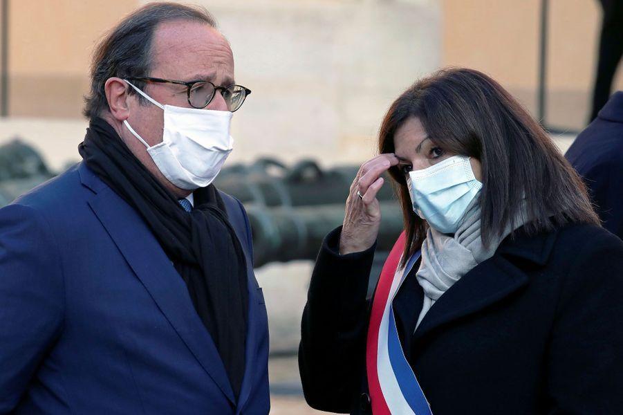 François Hollande et Anne Hidalgo